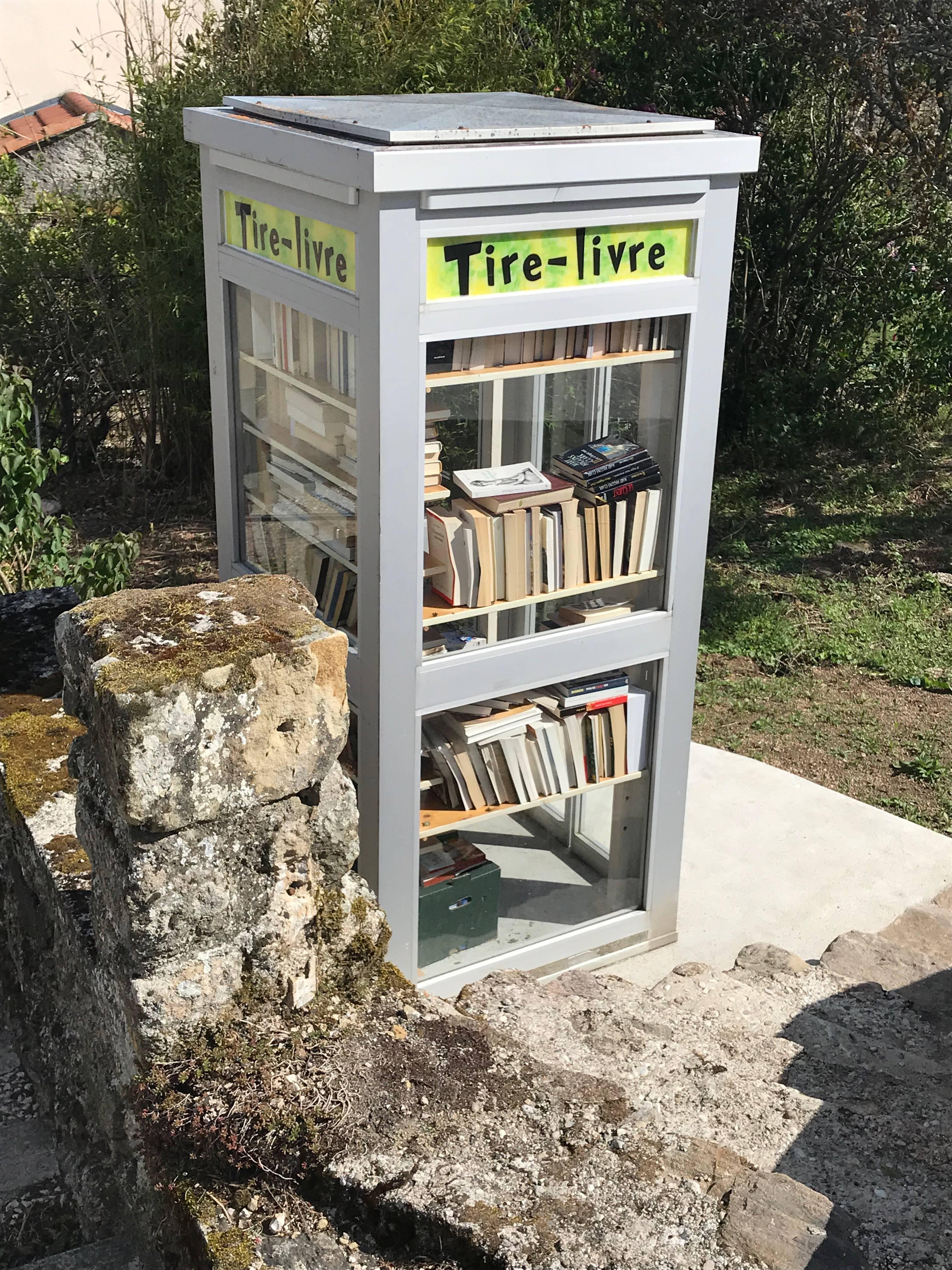 Cabine Bibliothèque